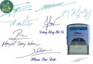 Khắc dấu chữ ký giá rẻ theo yêu cầu